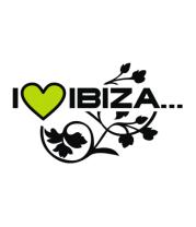 Толстовка I Love Ibiza