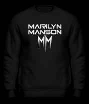 Толстовка без капюшона Marilyn Manson