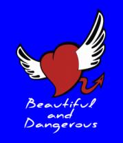 Мужская футболка с длинным рукавом Beautiful and Dangerous
