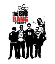 Толстовка без капюшона The Big Bang Theory