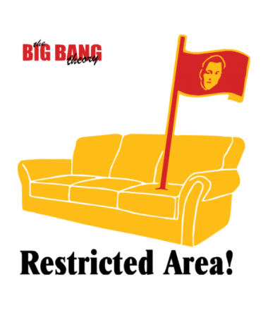 Кружка The Big Bang Theory. Restricted area!