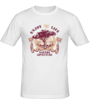 Мужская футболка  Safari