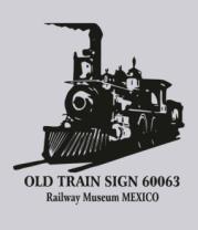 Толстовка Old train