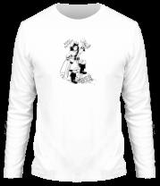 Мужская футболка с длинным рукавом Кому ваучер