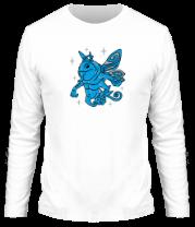 Мужская футболка с длинным рукавом Пак (Puck) Дота