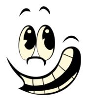 Мужская футболка с длинным рукавом Смайл улыбаеться glow