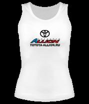 Женская майка борцовка Автоклуб Toyota Allion