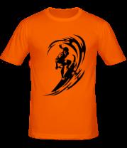 Мужская футболка  Серфинг