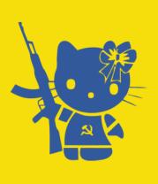 Бейсболка Kitty Soldier