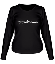 Женская футболка с длинным рукавом Toyota crown