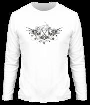 Мужская футболка с длинным рукавом Rock music