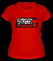 Женская футболка  Street Style