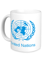 Кружка Эмблема ООН
