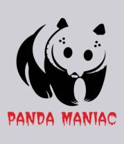 Толстовка Панда маньяк