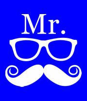 Мужская футболка  Мистер (парная)
