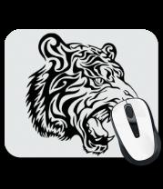 Коврик для мыши Тату тигр