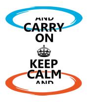Кружка Keep calm... (portal)