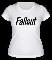 Женская футболка  Fallout