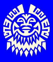 Детская футболка  Маска майя