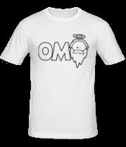 Мужская футболка  OM God