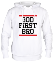 Толстовка God first bro