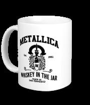 Кружка Metallica Whiskey in the Jar