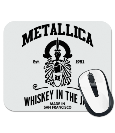 Коврик для мыши Metallica Whiskey in the Jar