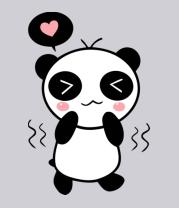 Мужская футболка  Милая панда (мужская)
