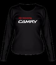 Женская футболка с длинным рукавом Toyota Camry