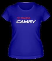 Женская футболка  Toyota Camry