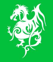 Женская футболка  Геральдический дракон