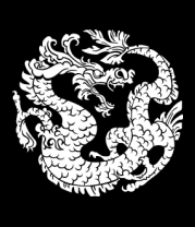 Толстовка Китайский дракон рисунок