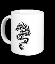 Кружка Татуировка - дракон