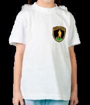 Детская футболка  Вежливые люди (нашивка)