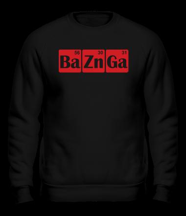 Толстовка без капюшона Bazinga