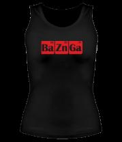 Женская майка борцовка Bazinga