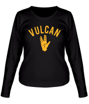 Женская футболка с длинным рукавом Vulcan