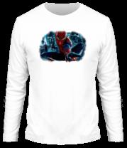 Мужская футболка с длинным рукавом Новый Человек Паук