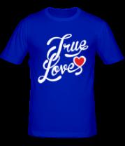 Мужская футболка  True love