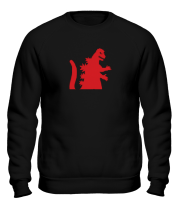 Толстовка без капюшона Godzilla - I'M BIG JAPAN