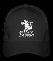 Бейсболка Godzilla I'm Drunk!