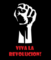 Женская футболка с длинным рукавом Viva La Revolucion