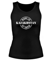 Женская майка борцовка Made in Kazakhstan