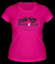 Женская футболка  Celica Club
