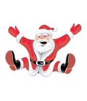 Трусы мужские боксеры Санта Клаус