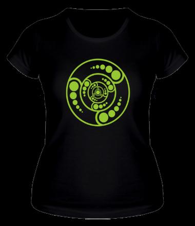 Женская футболка  Рисунки инопланетян