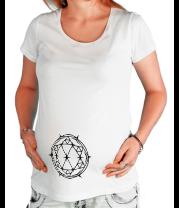 Футболка для беременных Алмаз