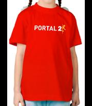 Детская футболка  Portal 2