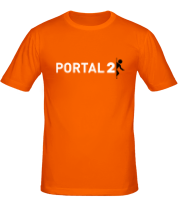 Мужская футболка  Portal 2