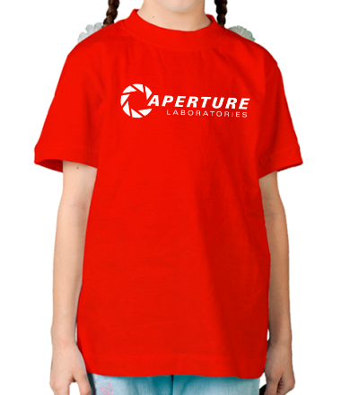 Детская футболка  Aperture Laboratories